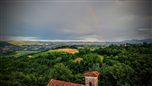 Arcobaleno sulle Langhe