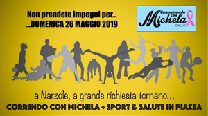 Correndo con Michela e Sport & Salute in piazza.